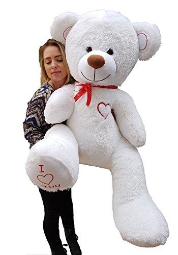 XXL Teddybär Plüsch Kuschel Stoff Plüsch Riesen Teddy Bär Groß 160cm