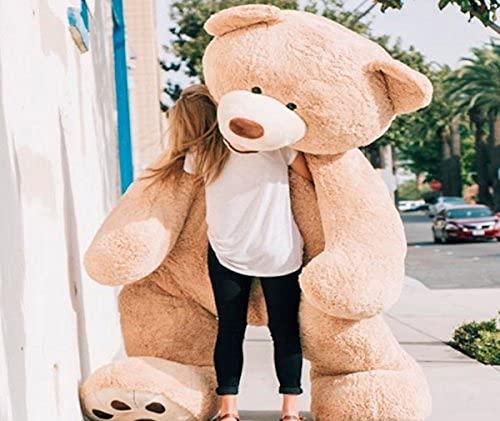Bananair Riesen Teddybär (130cm to 340cm) XXL Großer Riesiger Teddy Bear Stofftier Perfekt für Geburtstag, Geschenk, Weihnachten, Spielzeug Plüschtiere (260 Zentimeter)